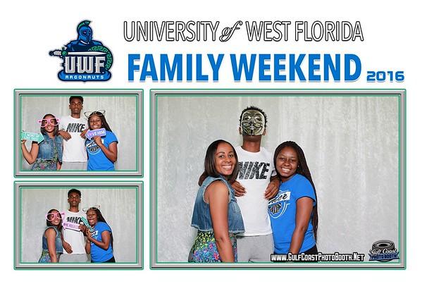UWF Family Weekend 2016