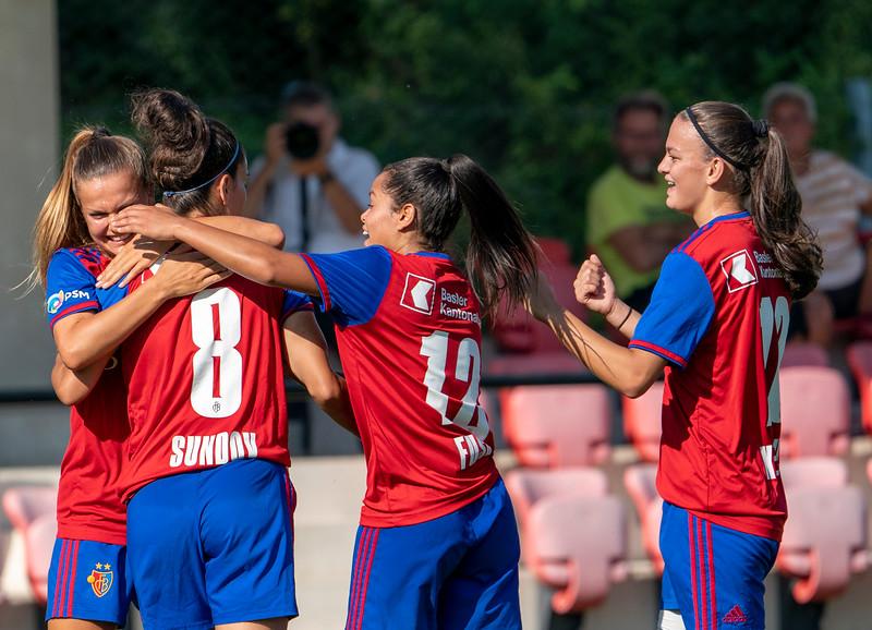 Frauen FC Basel versus GC Zürich  - © Klaus Brodhage(14)