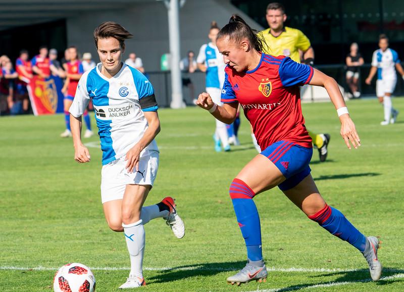 Frauen FC Basel versus GC Zürich  - © Klaus Brodhage(22)