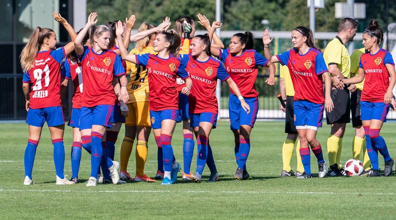 Frauen FC Basel versus GC Zürich  - © Klaus Brodhage(3)