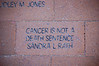 CANCER IS NOT A <br /> DEATH SENTENCE<br /> SANDRA L RATH