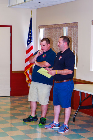 Fred Albrecht - Pleasant Valley  FD - 70 years of active service recognition - 8/6/2016