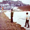 1970 We were on our way to Yugoslavia from Wurtzburg down the Romantic Road and on to Munich and over the Brenner pass to ItalyThe is one of the may villages along the Romantic road.  Fred and Craig Antrobus.