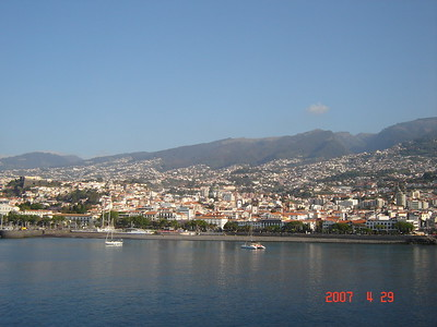 Maderia cruise ship