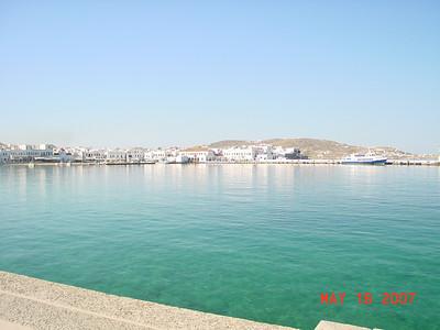 Med. Cruise. Mykinos to Izmir