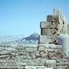 Mt. Lycabettus in back ground.  Greek Agios,  Griorgin Church