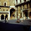 1967  Piazza dei Signori the day after market day.