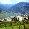 1967  The village of Tirano in the Italian Alps.