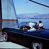 1969  Arab car loads on the Truva before us.