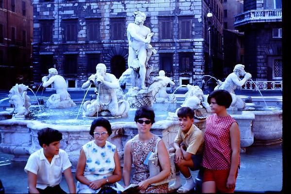 1969 Rome,Izmir to Wurtzberg