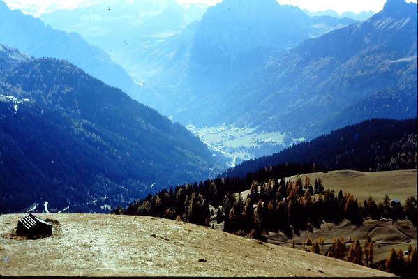 Italian Alps, climbing,skiing & sites 1976