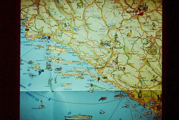 Maps of Italy, Yugo.,skiing
