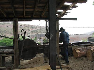 Steam mill at Jerone Az. Mining town