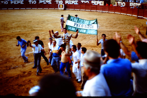 Bull fights & Feria of Juarez 1983