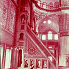 Interior of the Blue Mosque,  Sultanahmet Chamii