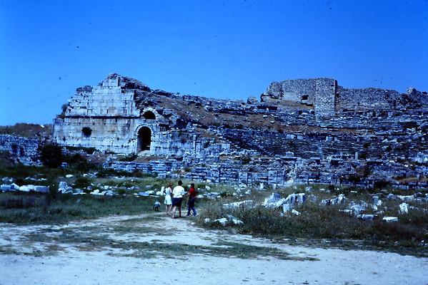 Bergama, Asclepiem and Miletus 1966-69