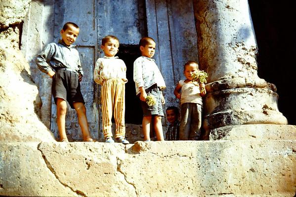 Fethya,Kas,Antalya,Aspendos1967