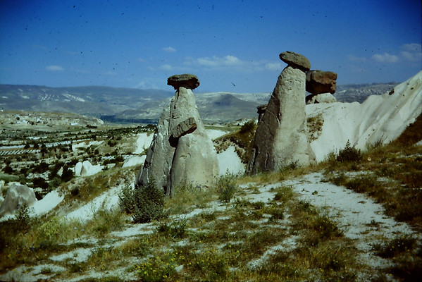 Selve,Urgup under ground cities 1967