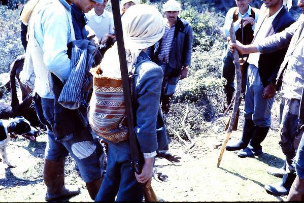 Turkey hunting photos 1966-1969