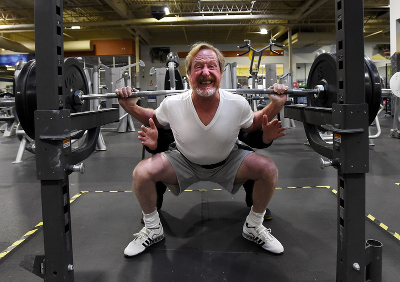 Fred Thrall Powerlifter