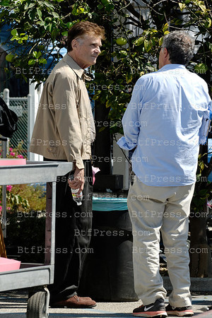 "Fred Willard Turns 78 years old on the set of Tv "" I'm Not Dead Yet ""   in Venice California."