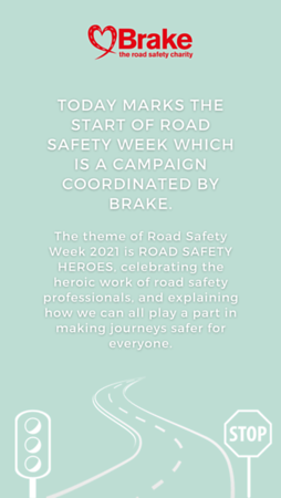 Road Safety Week Story