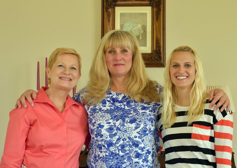 Judy, Judy and Lauren