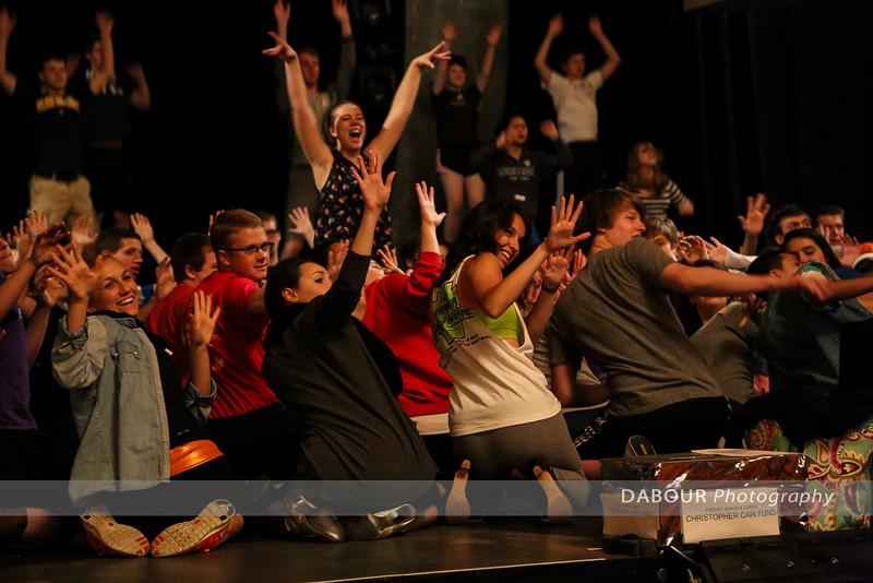 Freddy Award Rehearsal