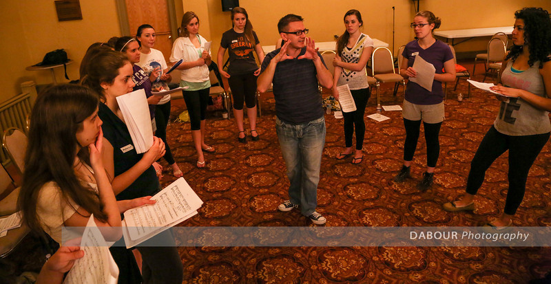 Freddy Awards Opening Number Day 3 Rehearsal photos