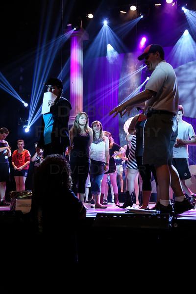 Tuesday Freddy Award Rehearsal