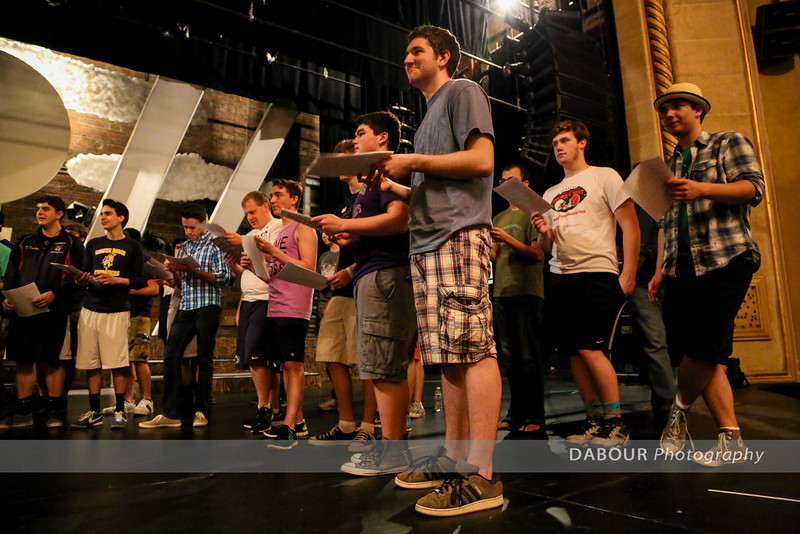 First Freddy Awards 2014 Rehearsal