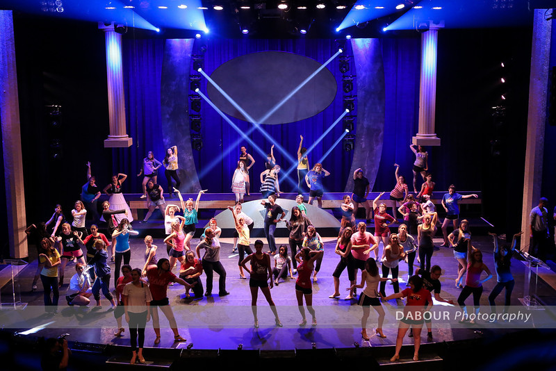 Monday Freddy Awards Rehearsal