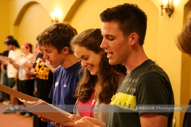 Freddy Awards Opening Number Day 1 Rehearsal photos