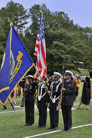 Navy JROTC Color Guard
