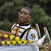 Quinterious Brown - Drum Major in the stands.