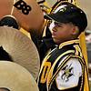 Drumline cymbalist