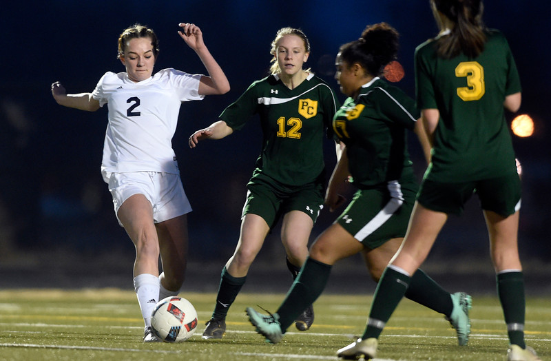 Frederick vs Pueblo County Girls Soccer