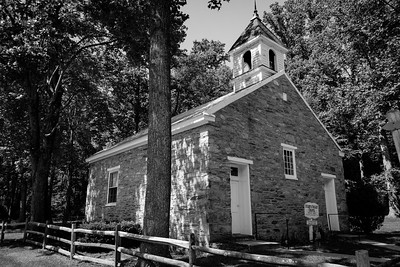 Eyler's Valley Chapel, built in 1857, remains a vibrant community of believers near Thurmont, Maryland