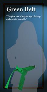 Green Belt Banner