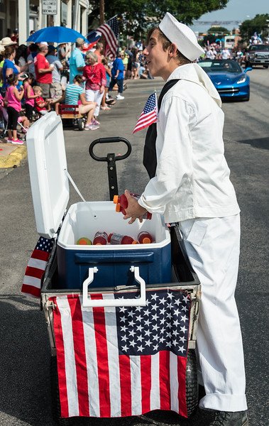 Fredericksburg 4th of July parade