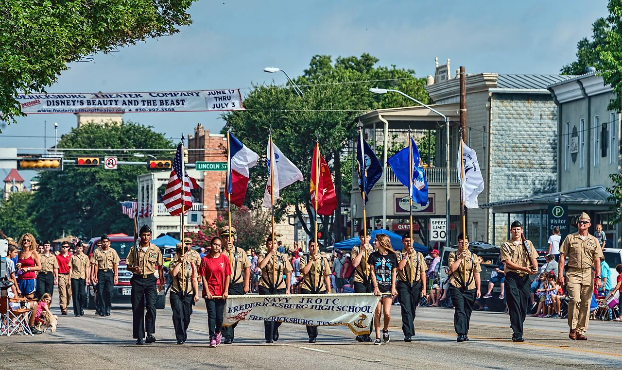 Fredericksburg 4th of July parade