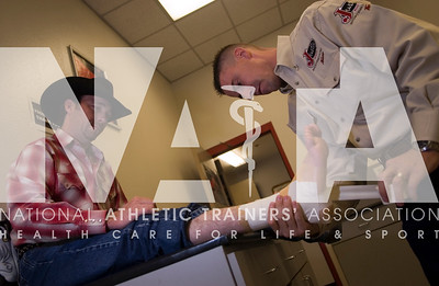 As an independent contractor, Jason Roe, ATC, LAT, CMT, is hired by groups such as the professional rodeo circuit to care for athletes in a range of settings.