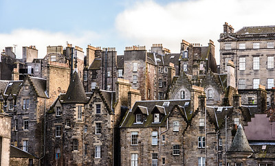 The Roofs of Edinburgh's Old Town