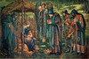 "The Star of Bethlehem, watercolor by Edward Burne-Jones (1890).  Click the ""Buy"" or shopping cart button (above the image) to purchase prints or merchandise -- or to download the ""Original"" image in its highest resolution."