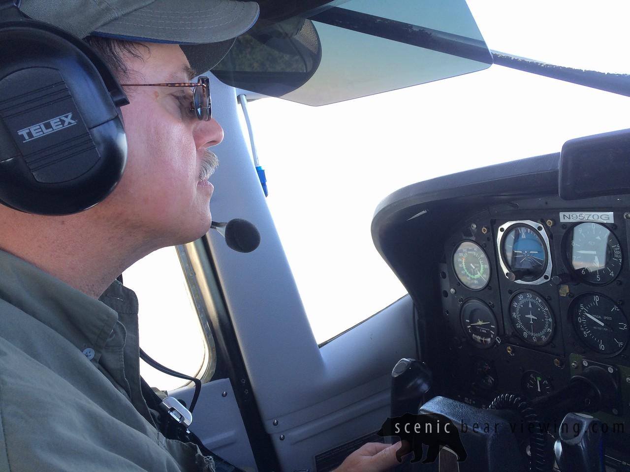 The Pilot & Guide Martin Boland has been flying 30 years!