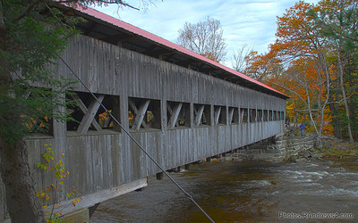 Covered Bridge in Albany, NH