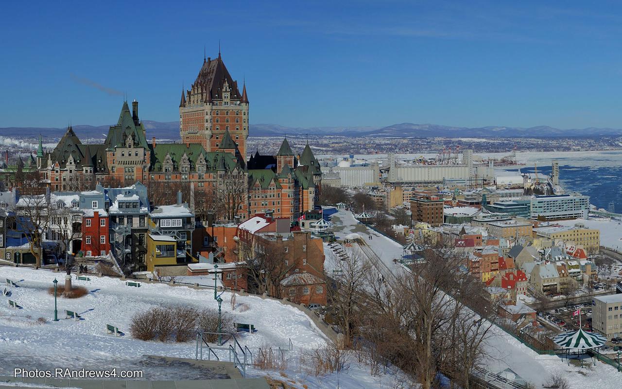 Frontenac Hotel, Quebec