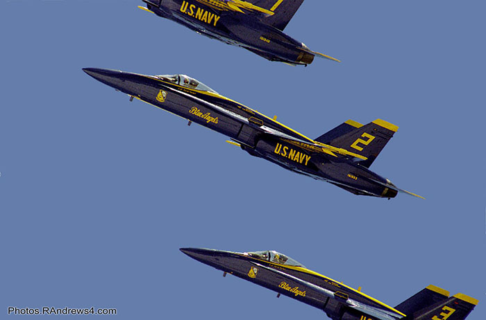 Blue Angels, Pensacola Beach, July 2003