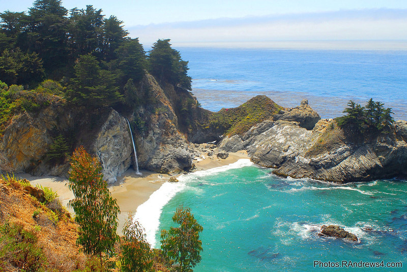 McWay Falls in Julia Pfeiffer Burns State Park
