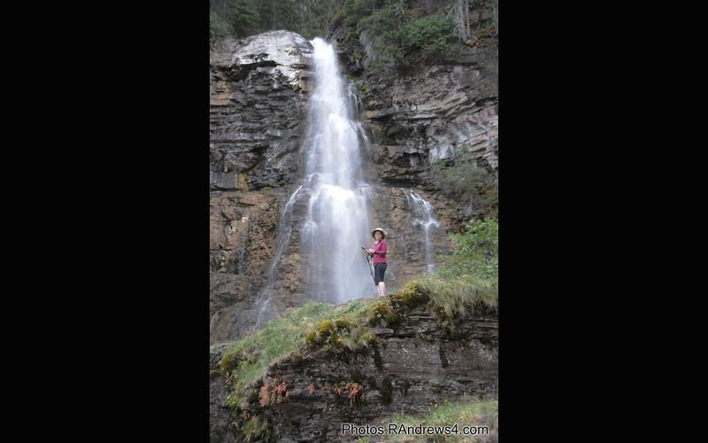 Jane at Virginia Falls